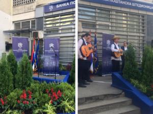 Otvaranje regionalnog centra Poštanske štedionice u Beogradu (septembar, 2018)