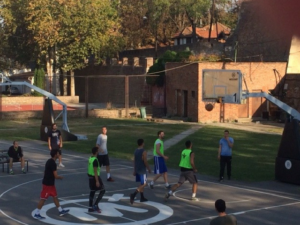 Student fest -Studentski turnir u basketu 3na3 na Kalemegdanu (oktobar, 2018)