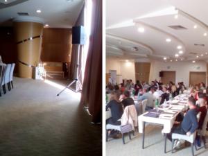 Seminar fizikalne medicine kompanije North System u Tulip Inn Putnik Hotelu u Beogradu (oktobar, 2018)