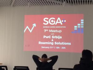 SGA - Serbian Games Association MeetUP (januar, 2019)